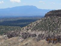 Sandia Mts. in distance