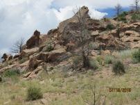 Climbing through NM Land Trust