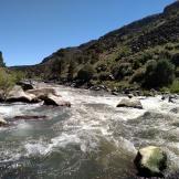 Rio Grande meets Red River, NM